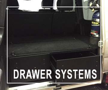 Safari Centre Drawer Systems