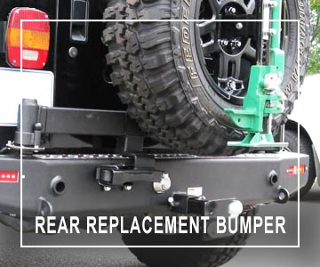 Safari Centre Rear Replacement Bumper